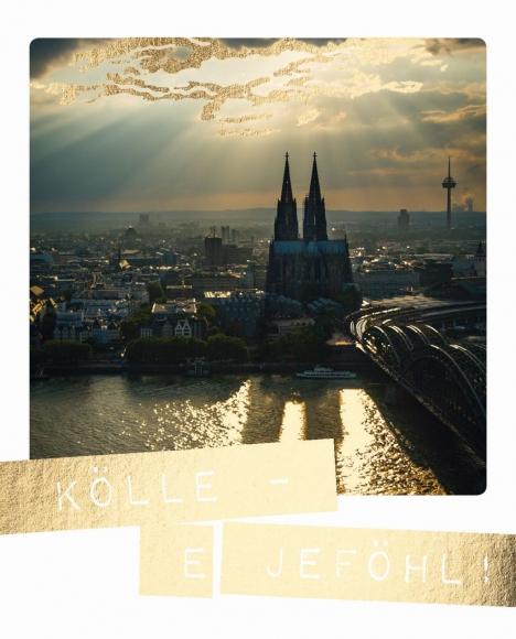Postkarte: Kölle - e Jeföhl!