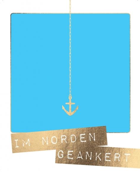 Postkarte: Im Norden geankert
