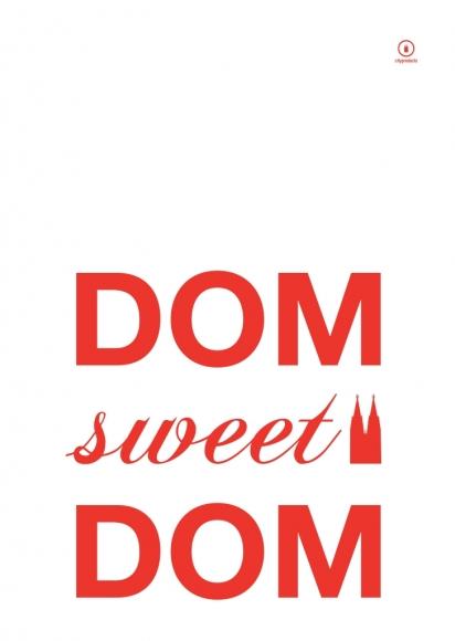 Küchenhandtuch Dom sweet Dom