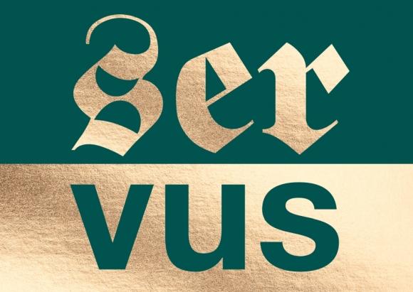 Postkarte: servus