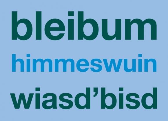 Postkarte: bleibumhimmeswuinwiasd'bisd
