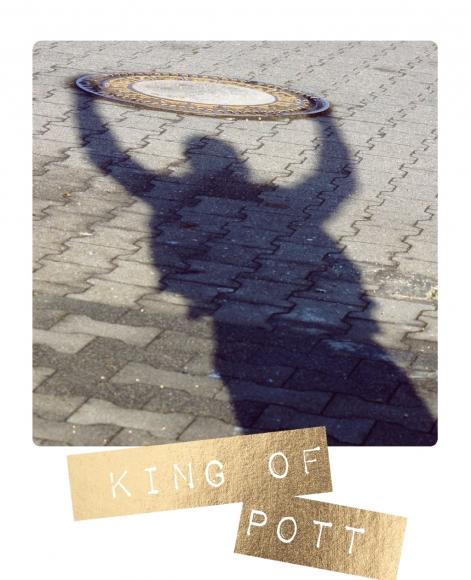 Postkarte: King of Pott