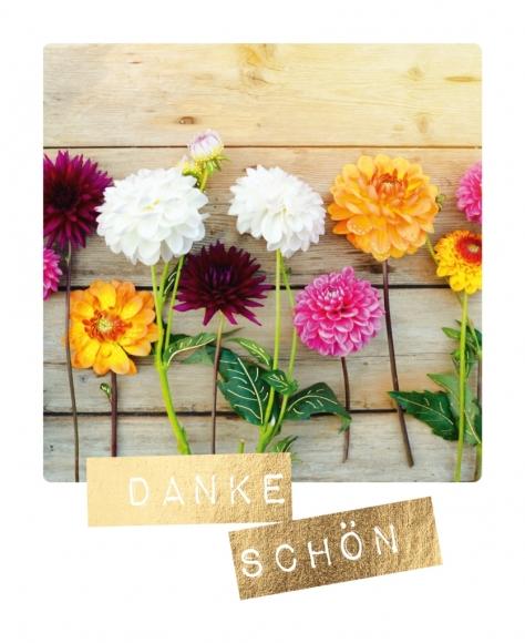 Postkarte: Dankeschön