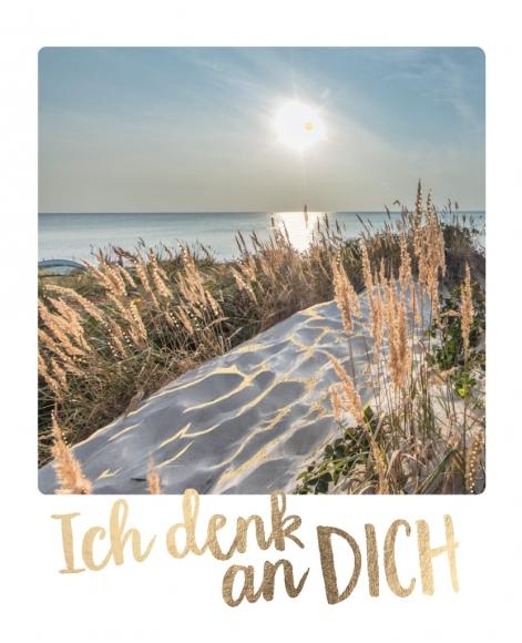 Postkarte: Ich denk an Dich