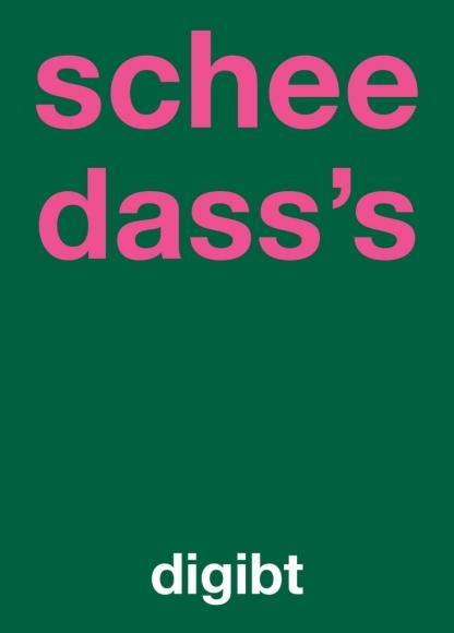 Postkarte: schee dass's digibt