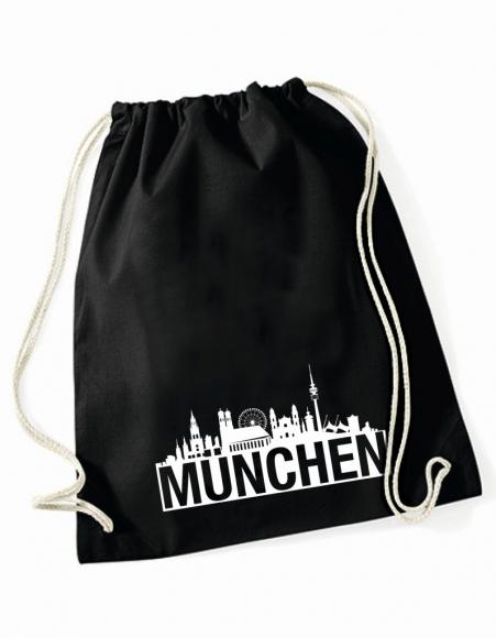 Turnbeutel Skyline München
