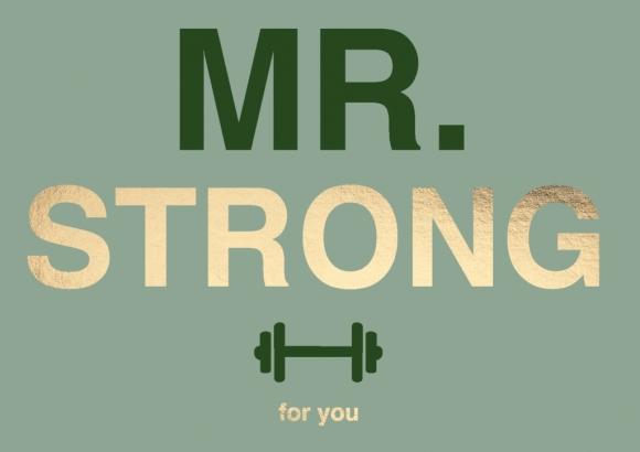 Doppelkarte: Mr. Strong for you