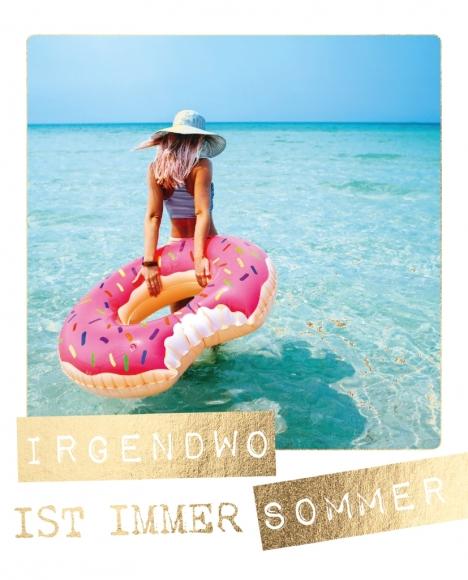 Postkarte: Irgendwo ist immer Sommer