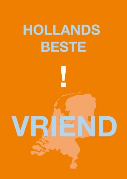 Postkarte: Hollands beste ! Vriend