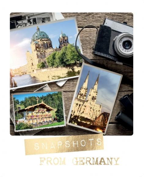 Postkarte: Shapshots from Germany