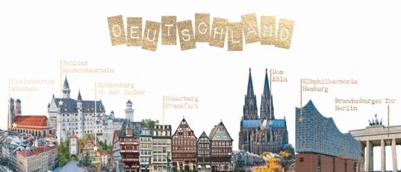 Postkarte: Deutschland Tour