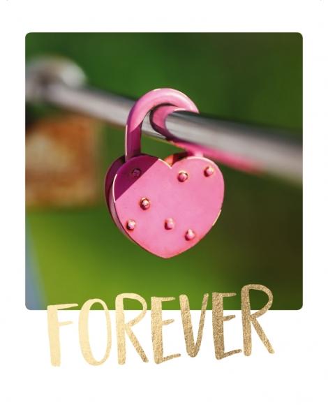 Postkarte: Forever