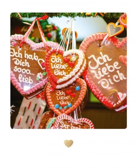 Postkarte: Liebe