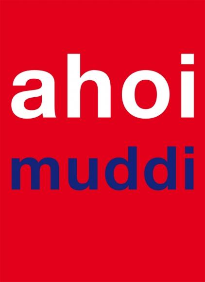 Postkarte: ahoi muddi
