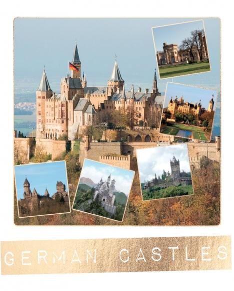 Postkarte: German Castles