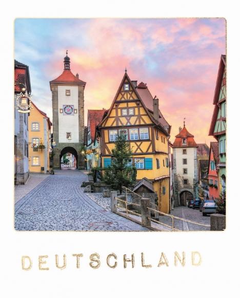 Postkarte: Deutschland -Rothenburg ob der Tauber