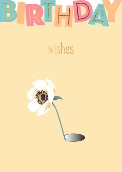 Postkarte: Birthday wishes