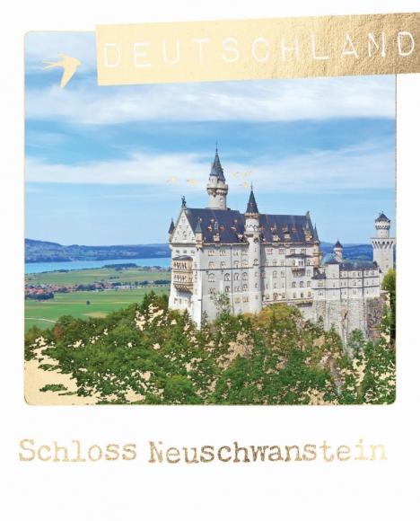 Postkarte: Deutschland Schloss Neuschwanstein