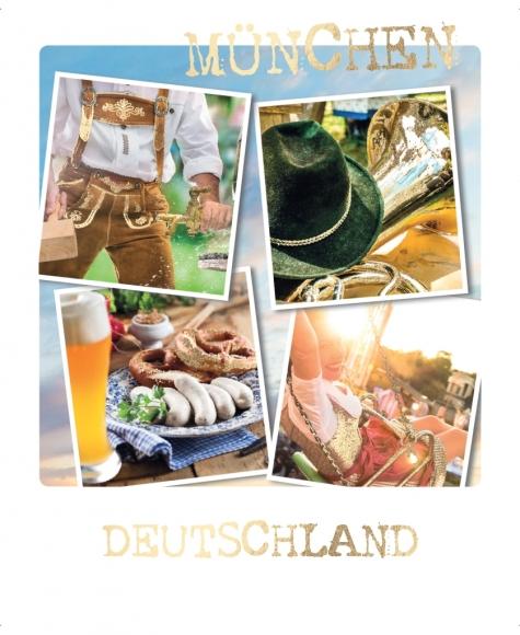 Postkarte: München Deutschland