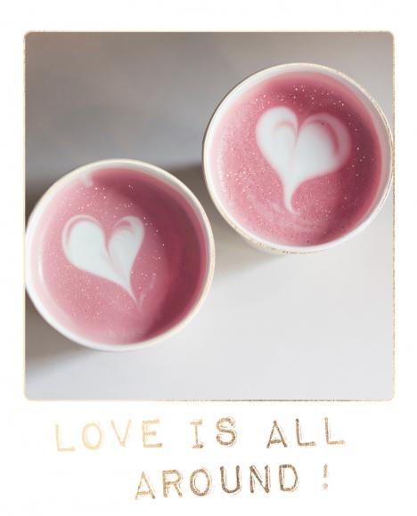 Doppelkarte: Love is all around!