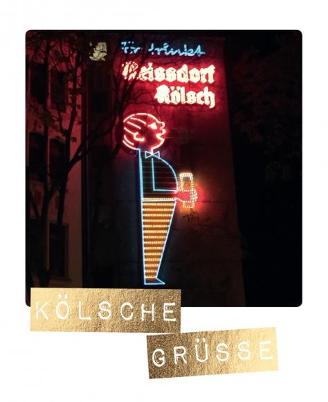 Postkarte: Kölsche Grüße