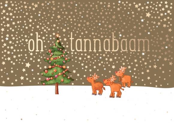 Postkarte: oh tannabaam