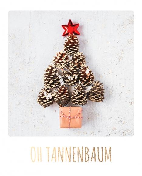 Postkarte: Oh Tannenbaum