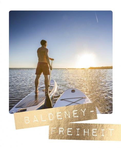 Postkarte: Baldeney-Freiheit