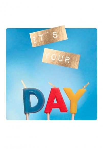 Doppelkarte: It's your DAY