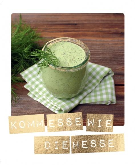 Postkarte: Komm esse wie die Hesse