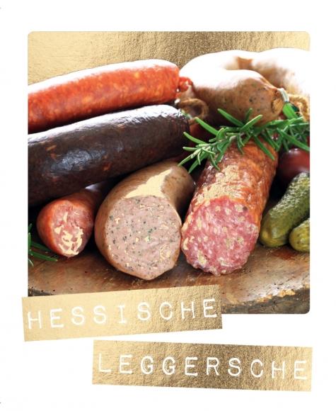Postkarte: Hessische Leggersche