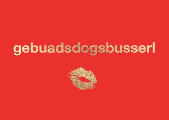Postkarte: gebuadsdogsbusserl