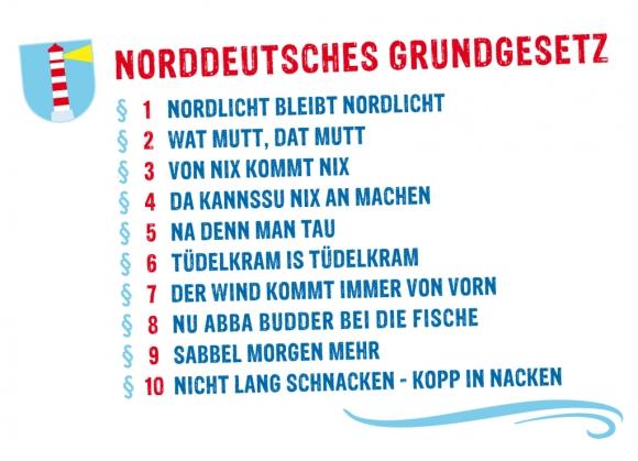 Magnet Norddeutsches Grundgesetz