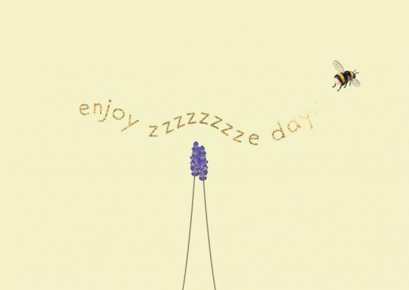 Postkarte: enjoy zzzzzzzze day
