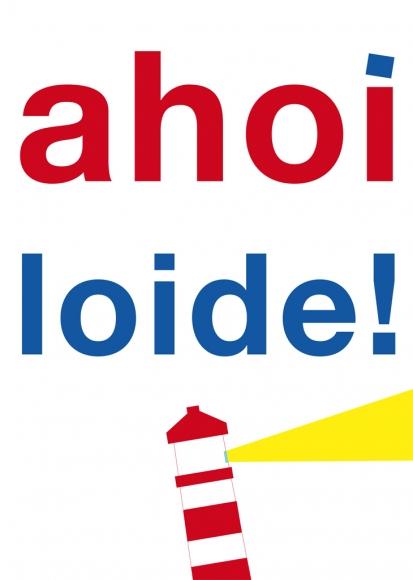 Postkarte: ahoiloide