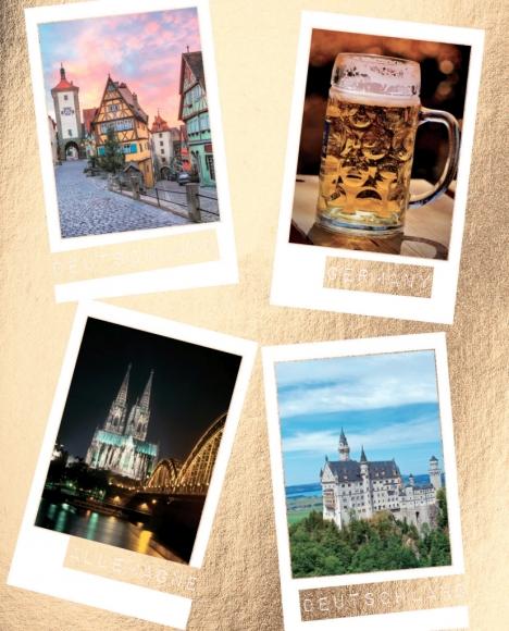 Postkarte: Deutschlang, Germany, Allemagne