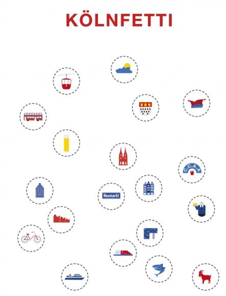 Doppelkarte: Kölnfetti