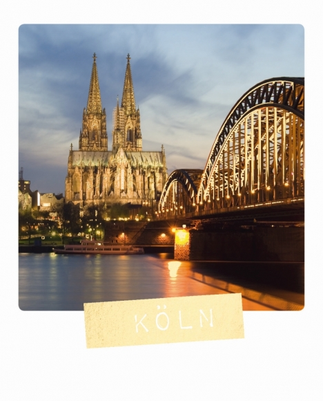 Postkarte: Köln
