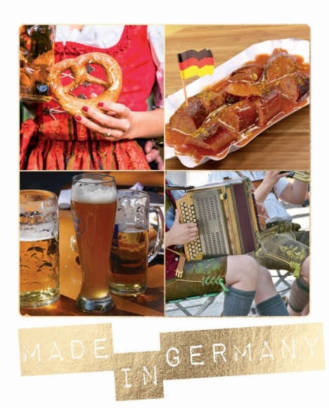 Postkarte: Made in Germany