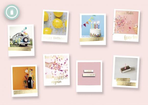 celebrate* Set 8 Postkarten