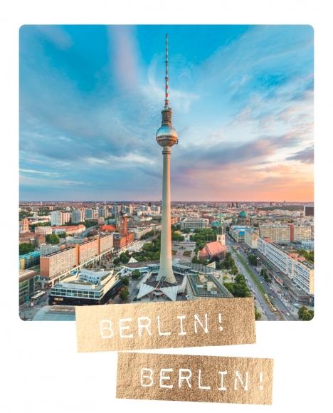 Postkarte: Berlin! Berlin!