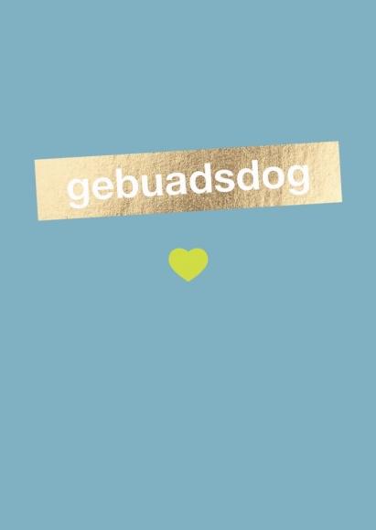Doppelkarte: gebuadsdog