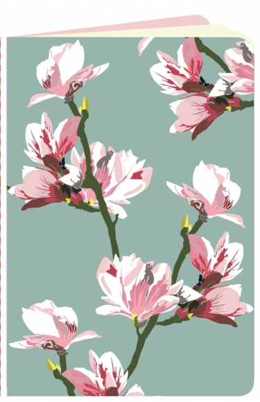 Heft flowerpower Magnolie