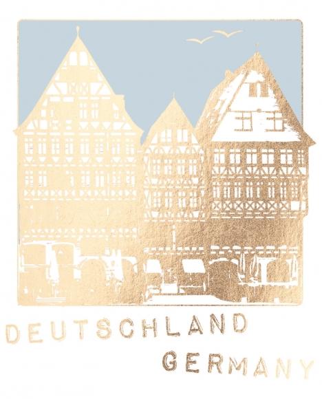 Postkarte: Deutschland, Germany