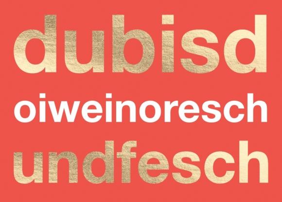 Postkarte: dubisdoiweinoreschundfesch