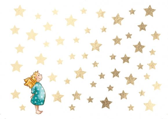 Mini-Doppelkarte: Kleiner Engel