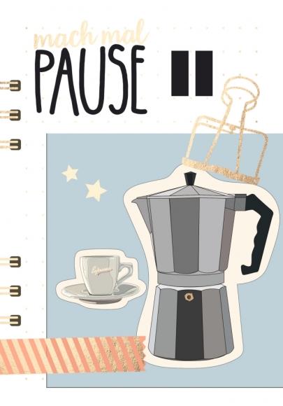 Postkarte: Mach mal Pause