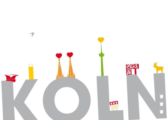 Postkarte: Kölner Dinge