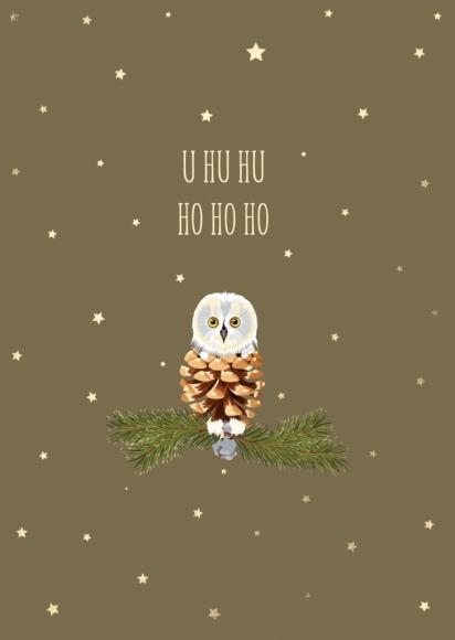Postkarte: U hu hu Ho Ho Ho