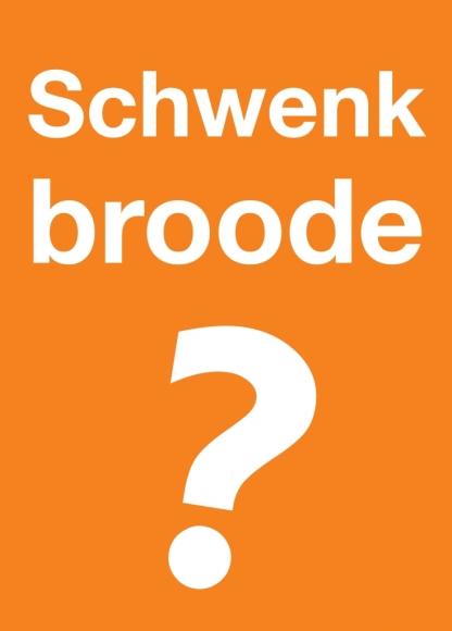 Postkarte: Schwenkbroode?